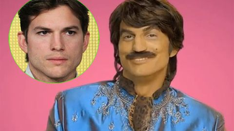 Racist? Ashton Kutcher in 'brownface' video