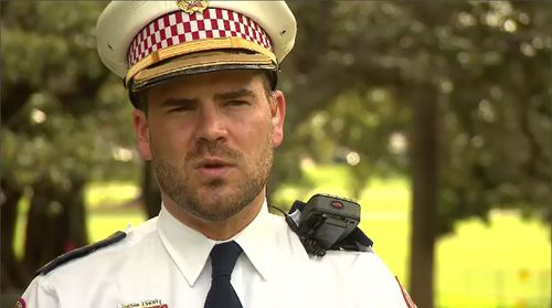 NSW Ambulance Inspector Jordan Emery said the man is 'lucky' that bystanders were able to render first aid assistance to the man so quickly.