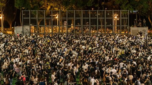 Tiananmen Square memorial vigil