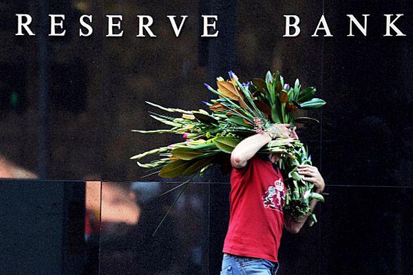 Reserve Bank of Australia sign