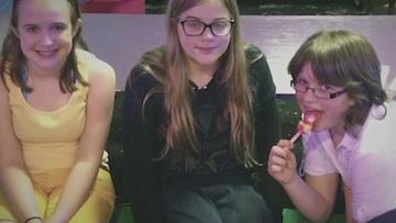 From left, Payton Leutner Morgan Geyser and Anissa Weier in an undated photo.
