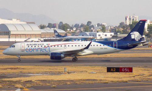 Aeromexico Embraer E190. Picture: File