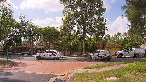 The officers were responding to a disturbance on Banksia Circuit in Forest Lake when the teen allegedly threatened them.