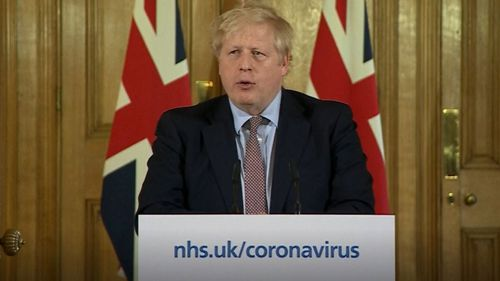 UK Prime Minister Boris Johnson has urged people to avoid pubs, cinemas and restaurants to contain the virus.