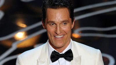 Matthew McConaughey thanked his hero, himself, during his acceptance speech for Best Actor for Dallas Buyers Club.