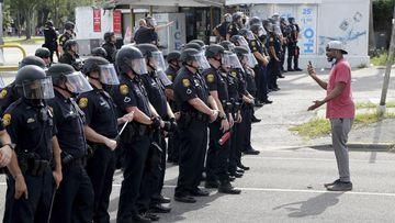 Florida protester