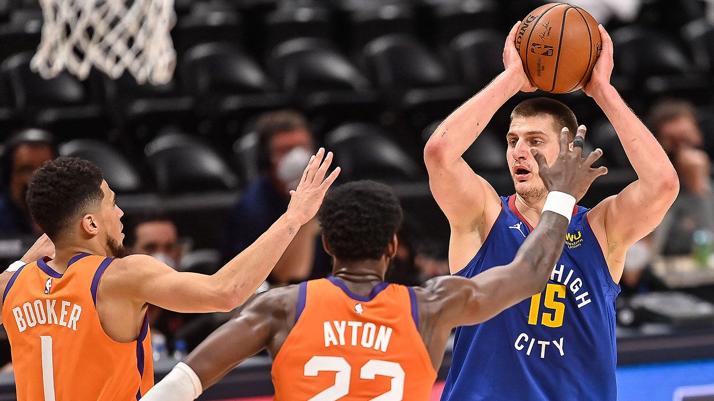'Insane' performance from newly-crowned MVP Nikola Jokic not enough to rescue Denver Nuggets
