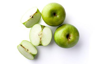 Whole apple: 13g sugar per 100g
