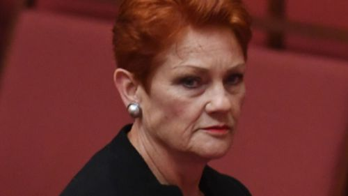Senator Hanson will return to the campaign on Tuesday. (AAP)