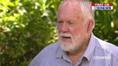 Bundaberg deputy mayor Bill Trevor described Mr Dilger as 'a real livewire'. (9NEWS)