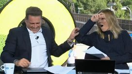Moment Karl Stefanovic's joke goes painfully wrong