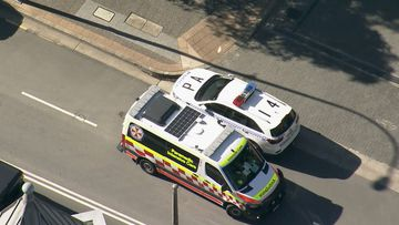"""A teenage boy has suffered a """"minor laceration"""" after being stabbed in the back at Parramatta Children's Court."""