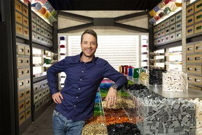 Hamish Blake on LEGO Masters