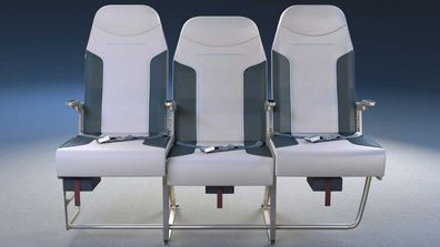 Plane middle seats redesigned by Molon Labe Seating