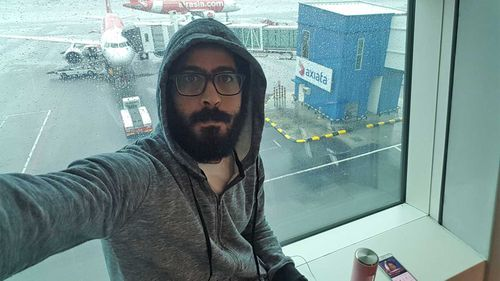 Hassan Al Kontar spent seven months in an airport in Malaysia.