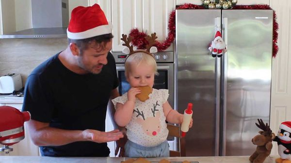 Cooking with Billie Coco - Santa's gingerbread