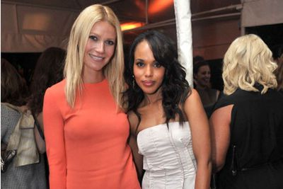 """""""When I was in junior high school, I really wanted to be in Triple Trio because there was this really amazing senior named Gwyneth Paltrow, and she was president of Triple Trio, so I wanted to be president of Triple Trio one day,"""" Kerry told Jimmy Kimmel. """"And then I was co-president of Triple Trio one day."""""""