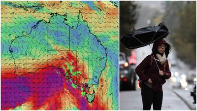 Windy winter blast to hit Melbourne and Adelaide