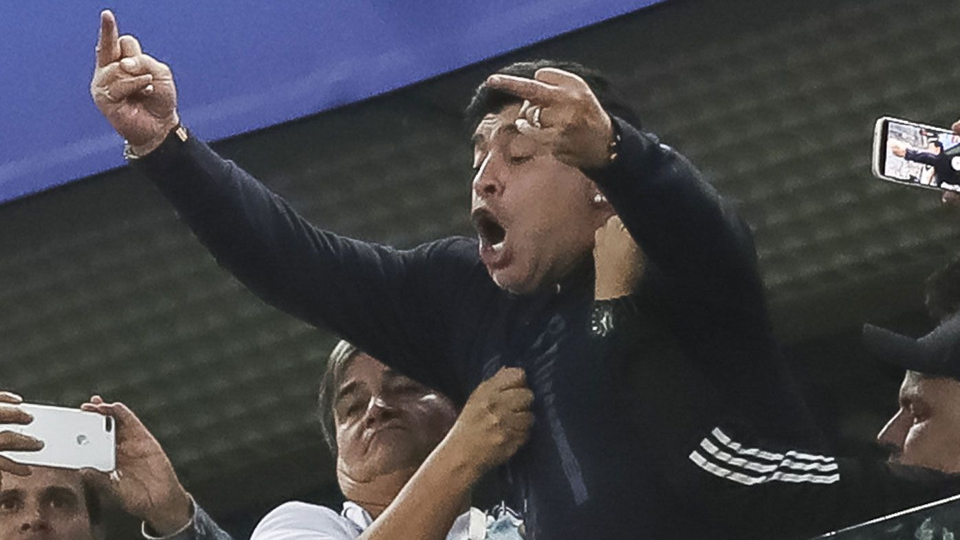 Unsavoury and unstable Maradona celebrates