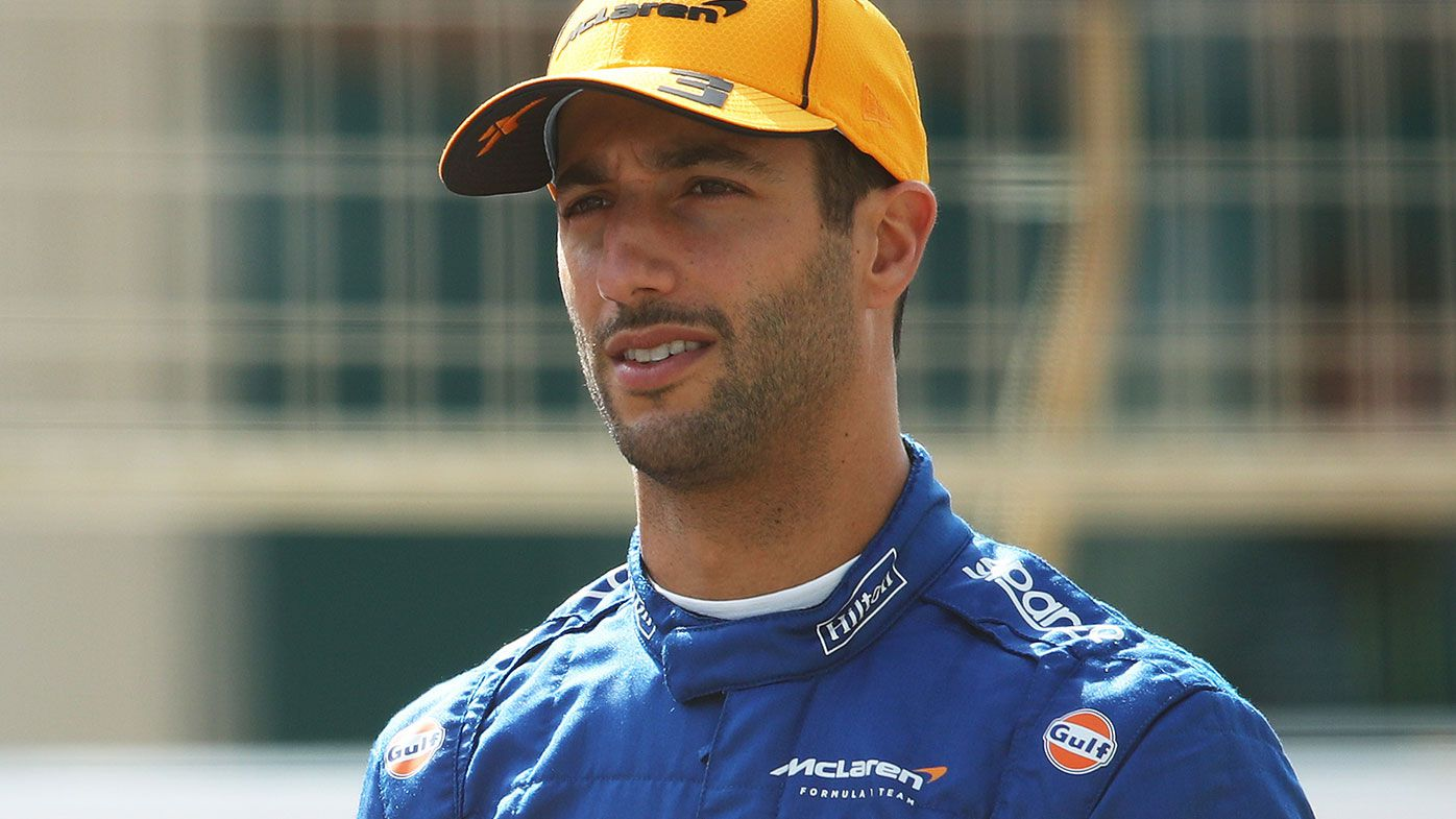 Daniel Ricciardo has struggled to match the pace of Lando Norris so far in 2021.
