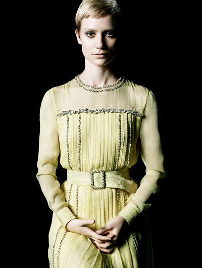 Mia Wasikowska for La Femme Prada.