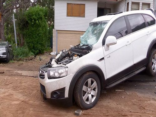 Bulli Pass truck flip crash explosion Thirroul traffic NSW