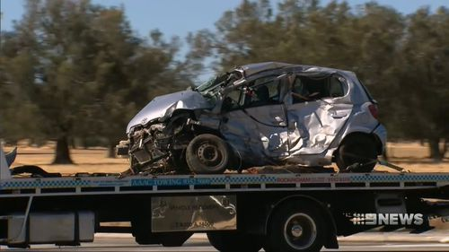 The driver of this vehicle died instantly.