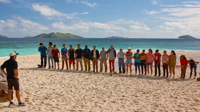 20 of the best players are back to compete in Survivor: Winners At Wall.