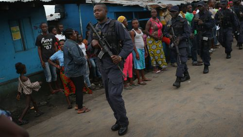 Ebola-infected patients on the run in Liberia