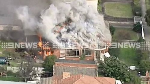 Firefighters have been called to the Glenroy scene. (9NEWS)