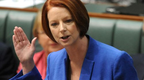 The former PM made headlines around the world when she blasted Tony Abbott in a speech about sexism and misogyny.