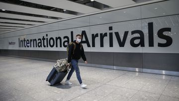 The CommonPass phone app will be trialled on a flight route from Heathrow Airport in London.