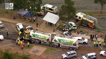 Child dead, several injured after truck smash south of Sydney