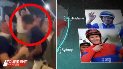 Famous jockeys caught up in possible lockdown breach.