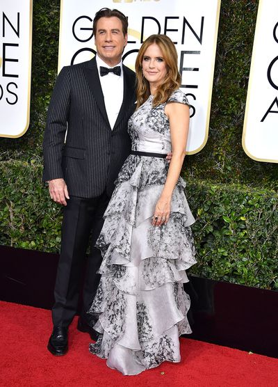 Kelly Preston gave birth at 48. <br /> In 2012, John Travolta and wife Kelly Preston introduced their new baby son Benjamin to the world.<br /> Travolta, 56, said at the time that&nbsp;their new baby helped them heal from the devastating loss of their eldest son Jett, who died in January 2009 following a seizure.