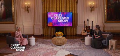 Jill Biden on Kelly Clarkson