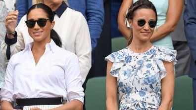 Kate Meghan and Pippa Wimbledon