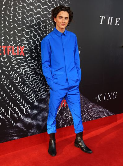 Timothée Chalamet, The King, premiere, Netflix, movie