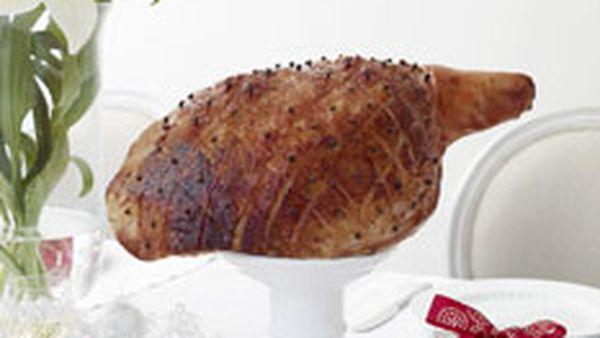 Quince paste ham