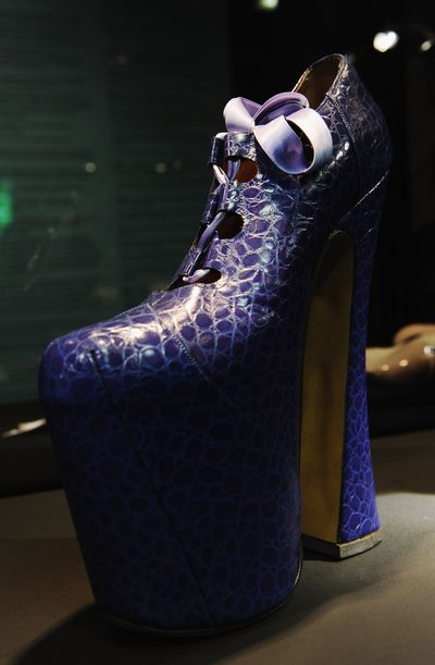 The platform heel that sent Naomi Campbell flying in 1993.
