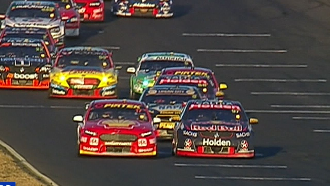 High drama in Supercars