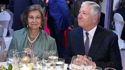 Queen Sofia of Spain and crown prince Aleksadar Karadjordjevic