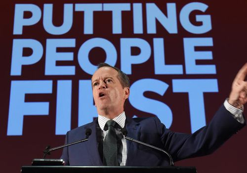 Bill Shorten hit with legal threats over 'putting people first' slogan