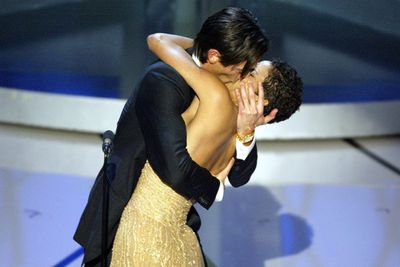 Adrian Brody was so excited to win an Oscar in 2003 he snogged presenter Halle Berry on stage.