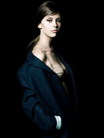 Mia Goth for La Femme Prada.