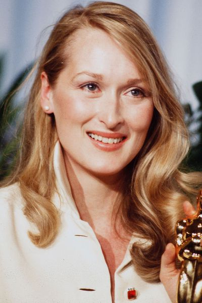 With 19 Oscars nominations in the bag, Meryl Streep knows that glossy waves will always be a beauty win. Here she is in 1980.