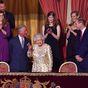 Queen's granddaughter makes TV debut
