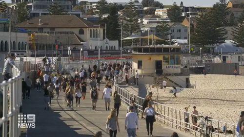 Sydney social distancing fail