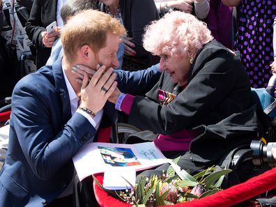 Daphne Dunne and Prince Harry Sydney Opera House