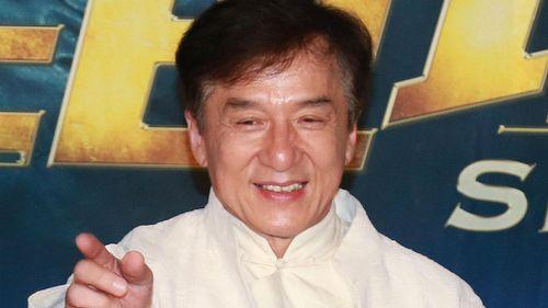 Jackie Chan filming action movie 'Bleeding Steel' on Sydney streets